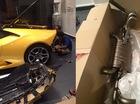 """Lamborghini Huracan của Cường """"Đôla"""" lắp ống xả độ Akrapovic"""