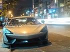 Siêu xe McLaren 570S 2016 khoe dáng trên phố đêm Sài Gòn