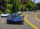 """Đã mắt dàn siêu xe McLaren biểu diễn """"thời trang"""" tại Mỹ"""