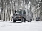 Ngôi nhà di động 6 bánh giá triệu đô của Mercedes-Benz