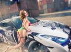 Hot girl Sài thành diện bikini tạo dáng nóng bỏng bên xế độ Nissan GT-R