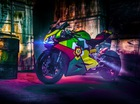Ducati 899 Panigale độ phong cách mũ bảo hiểm của biker Việt
