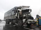 Xe tải tông nhau văng xuống ruộng trong đêm, 1 người chết tại chỗ