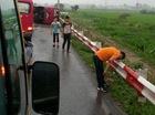 Tai nạn xe khách nghiêm trọng trên cao tốc Pháp Vân – Cầu Giẽ, nhiều người thương vong