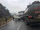 Xe chở phạm nhân đấu đầu xe chở xăng dầu, 5 chiến sĩ công an bị thương, 1 người tử vong