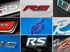 RS trong tên xe hơi có ý nghĩa gì?