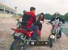 Biker Hà Thành tập stunt cùng Stunter nổi tiếng thế giới Aaron Twite