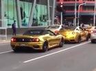 """Dàn siêu xe """"mạ vàng"""" náo loạn đường phố Bulgaria"""