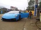 Siêu xe Lamborghini Gallardo xuất hiện tại miền núi Cao Bằng