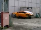 Sau tai nạn kinh hoàng, siêu xe Lamborghini Huracan trơ khung tại Hà Nội