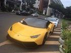 """Xôn xao siêu xe Lamborghini Huracan của Cường """"Đô-la"""" lắp bộ kit giấu biển số dưới gầm"""