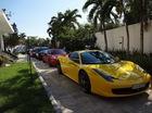 Dàn siêu xe, xe thể thao hàng độc tụ tập cuối tuần tại Sài thành