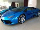 Thợ Nhật Bản khoác áo xanh crôm độc nhất Việt Nam cho Lamborghini Huracan