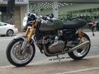"""Triumph Thruxton 1200R 2016 về Sài Gòn - """"Quỷ dữ"""" mang phong cách café racer hoài cổ"""