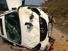 Mazda CX-5 lật trên cao tốc Nội Bài - Lào Cai, một thai phụ tử vong