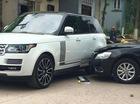 Quảng Ninh: Toyota Camry va chạm xế sang Range Rover trên phố