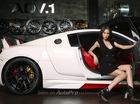 """Người đẹp phim """"Quyên"""" khoe dáng bên siêu xe Audi R8 độ"""