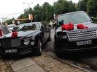 """Thiếu gia Nghệ An rước dâu bằng cặp đôi Bentley và Range Rover biển """"khủng"""""""