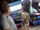"""Tài xế xe tải kể lại 5 phút nghẹt thở """"dìu"""" xe khách, cứu hơn 30 mạng người"""