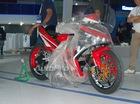 """""""Tóm gọn"""" 1 trong 2 chiếc Yamaha Exciter 150 độ """"khủng"""" tại triển lãm xe máy Việt Nam 2016"""