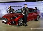 Cận cảnh sedan cỡ trung Hyundai Sonata 2018 ngoài đời thực