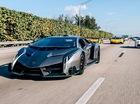 """""""Quái vật"""" Lamborghini Veneno khoe tiếng pô ấn tượng tại sự kiện siêu xe"""