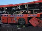 """Gia Lai: Ô tô tải """"phóng như bay"""", đâm vào xe khách khiến 12 người tử vong"""