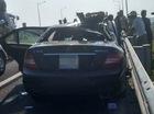 Mercedes-Benz C300 AMG va chạm ô tô tải trên cao tốc Hà Nội - Hải Phòng, 3 người thương vong