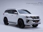 Toyota Fortuner 2017 được tân trang bằng bộ body kit xuất xứ Thái Lan