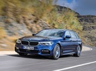 """BMW 5-Series Touring 2017 trình làng với cốp """"rộng thênh thang"""""""