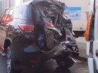 Đây là một trong những chiếc Toyota Fortuner 2017 đầu tiên gặp nạn tại Việt Nam