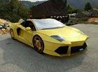 Lamborghini Aventador phiên bản vàng mã dùng để đốt trong ngày Tiết Thanh minh