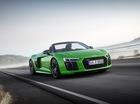 Audi R8 V10 Plus Spyder 2017 trình làng, độc quyền màu sơn, giá từ 5,3 tỷ Đồng