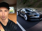 "Rộ tin đồn Cristiano Ronaldo muốn mua ""cực phẩm"" Bugatti Chiron"