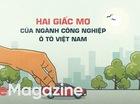 Hai giấc mơ của ngành công nghiệp ôtô Việt Nam - CafeF