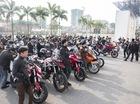 Dàn xe phân khối lớn diễu hành tưởng nhớ cố nhạc sĩ Trần Lập