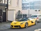 Ferrari LaFerrari mui trần thứ hai đặt chân đến thủ đô siêu xe London