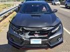 Honda Civic Type R 2017 gặp nạn trên đường từ đại lý về nhà mới