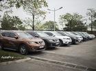 Dàn xe 30 chiếc Nissan X-Trail tụ hội ngày cuối tuần