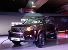 SUV cỡ trung Isuzu MU-X 2017 tiếp tục ra mắt châu Á với giá cao hơn