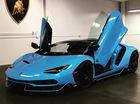 Lamborghini Centenario thứ 4 cập bến Mỹ với ngoại thất nổi bật màu xanh ngọc