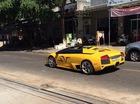 Lamborghini Murcielago LP640 mui trần độc nhất Việt Nam dạo phố Pleiku