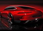 Mercedes-Benz hé lộ thiết kế của đối thủ mới dành cho Porsche Panamera