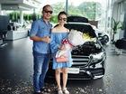 Vợ chồng nghệ sĩ hài Thu Trang và Tiến Luật tậu Mercedes-Benz E300 AMG 2017 2,8 tỷ Đồng