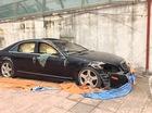 """Xót xa Mercedes-Benz S550 AMG bị """"bỏ rơi"""" tại Hà Nội"""