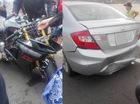 Suzuki GSX-R1000 va chạm kinh hoàng cùng Honda Civic tại Bàu Trắng