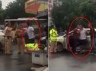 Hà Nội: Đi ô tô vào giờ cấm, người đàn ông cầm gậy golf đánh CSGT rồi bỏ chạy