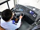 Nội thất đơn giản của buýt nhanh BRT bị tố đội giá