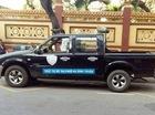 CSGT Đà Nẵng phạt xe biển xanh đỗ sai quy định