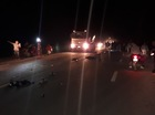 Xe máy đâm ô tô trong đêm, 1 người chết, 2 người nguy kịch